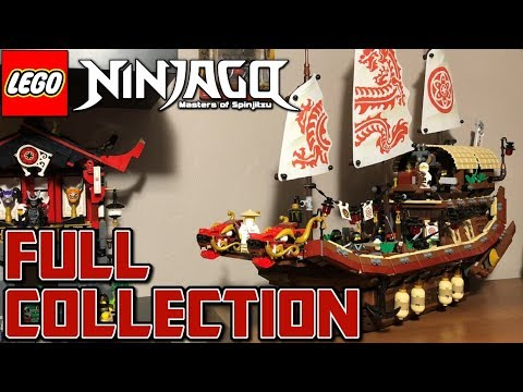 My Full LEGO Ninjago Collection + More!!