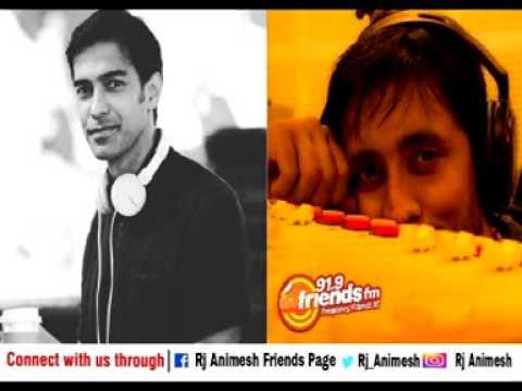 Dir  Sandeep Mohan with Rj Animesh live on 91.9 Friends FM Kolkata