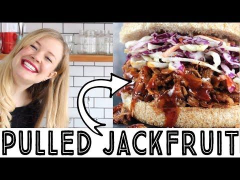 Pulled Jackfruit Recipe - 6 Ingredient BBQ Jackfruit Sandwich