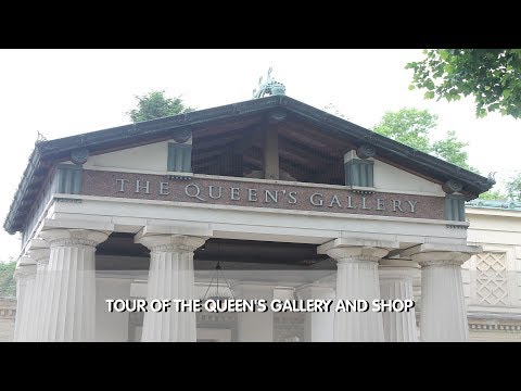 Tour of The Queen's Gallery & Gift Shop