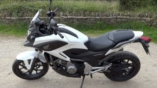 1. Honda NC700X DCT Auto Review - Owner's Demo