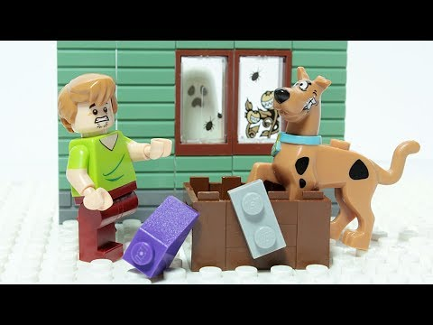 Lego Scooby Doo Brick Building Haunted House