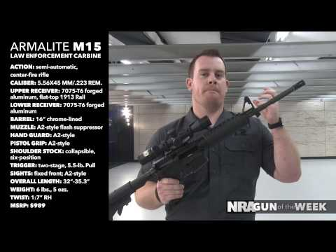 NRA Gun of the Week: Armalite M15 Law Enforcement Carbine