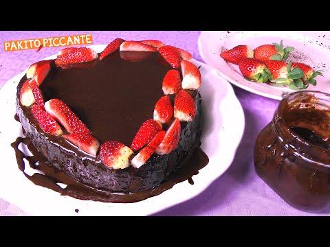 torta golosa al cioccolato (vegan)