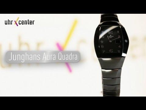 Junghans 013/1121.44 Aura Quadra Damen-Funkuhr