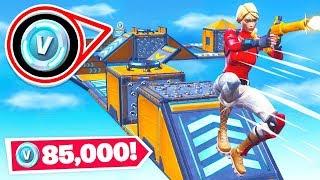 WINNING *85,000* V-BUCKS  *NEW* Game Mode in Fortnite Battle Royale