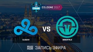 Cloud9 vs Immortals - ESL One Cologne 2017 - de_train [Enkanis, ceh9]