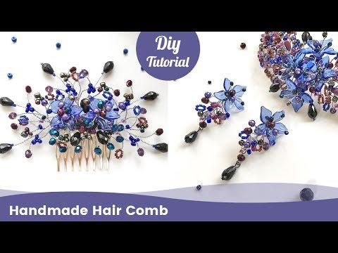 How to Make Handmade Hair Comb. Easy DIY Jewelry Ideas