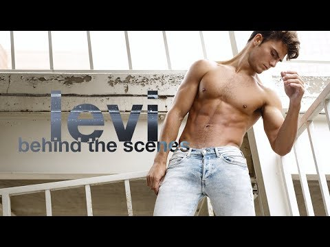 Behind the Scenes with Model Levi Conely