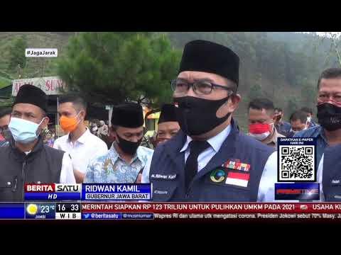 Sidak Jumatan di Masjid Attaawun, Ridwan Kamil Tegur Warga Tak Pakai Masker