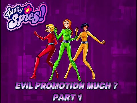 Totally Spies 4K 60fps (Season 3 Episode 24 Evil Promotion Much, Part 1)