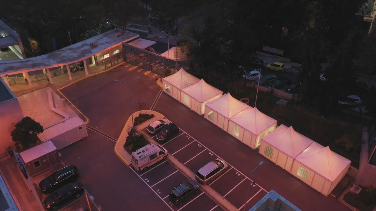 Σκηνές στο ΑΧΕΠΑ για στέγαση υπηρεσιών