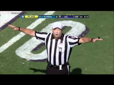 LSU Punter Brad Wing Fake Punt TD Call Back