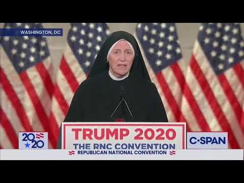 Sister Deirdre Byrne's full remarks at the GOP Convention