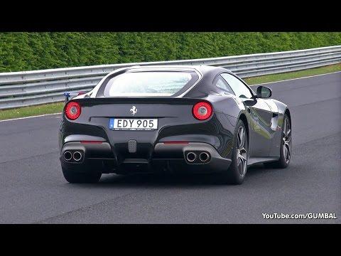ferrari f12 berlinetta al nurburgring ( hd )