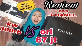 Video REVIEW TAS CHANEL - KW 300 ribu VS ASLI 67juta MP3, 3GP, MP4, WEBM, AVI, FLV Maret 2019