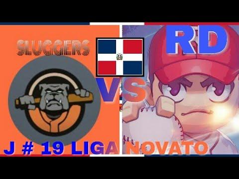 BASEBALL 9 Juego #19 De 42 LIGA NOVATO Sluggers vs Challengers GAMEPLAY