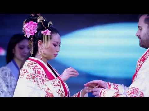 My Traditional Chinese Wedding l Make up l Hairstyle l Hanfu l 中式婚礼 汉服 (видео)