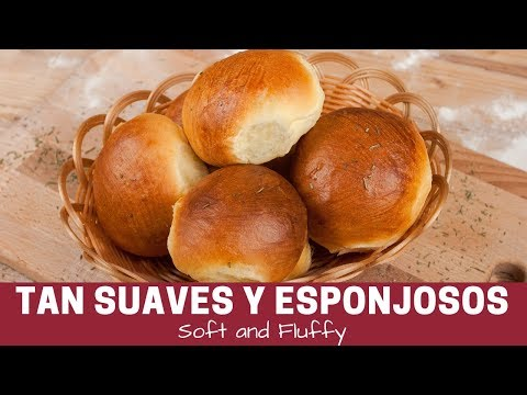 Bollitos de Leche.Faciles y esponjositos (How to make buns-Easy and soft)
