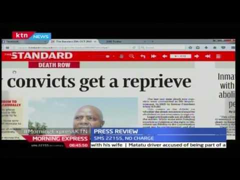 President Uhuru Kenyatta's latest gift to prisoners