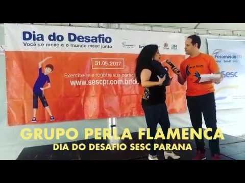 GRUPO PERLA FLAMENCA no Dia do Desafio Sesc Paraná