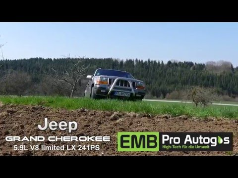 Autogas-Pkw: Grand Cherokee Limited LX 5,9L V8 BRC  ...