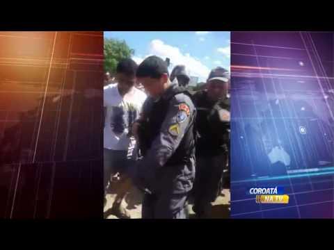 COROATÁ NA TV: DOIS ASSALTANTES SÃO PRESOS EM FLAGRANTE PELA POLICIA