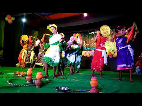 Ame A Jugoro Kolika Video By Sanpakhna School Girls And Boys