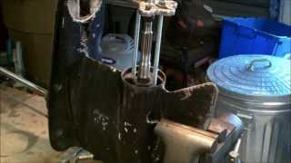 8. PART 1   HOW TO REMOVE A STUBBORN BEARING CARRIER 1975-2006  JOHNSON / EVINRUDE OUTBOARD MOTORS