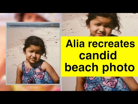 Alia Bhatt shares then and now photos from the beach