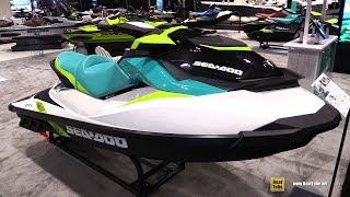 9. 2018 Sea Doo GTI Jet Ski - Walkaround - 2018 Toronto Boat Show