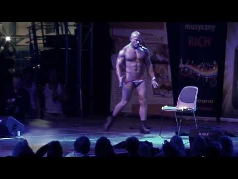 Polish champion in erotic dance , Chippendales Andy , Best male stripper (видео)