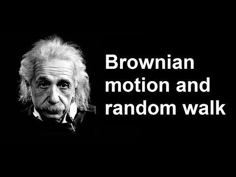 Brownian Motion and Random Walk