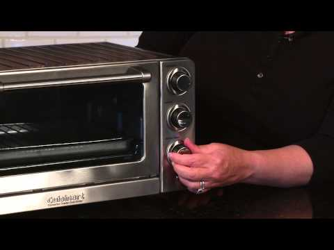 CUISINART CONVECTION TOASTER OVEN BROILER (TOB 60N) DEMO VIDEO