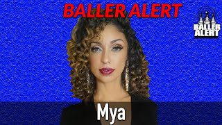 BA Exclusive - Mya Talks To Us On the Red Carpet - Interrupted by Robin Thicke & More