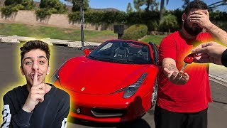 Video I stole his car.. then surprised him with his DREAM SUPER CAR!! MP3, 3GP, MP4, WEBM, AVI, FLV Juni 2019