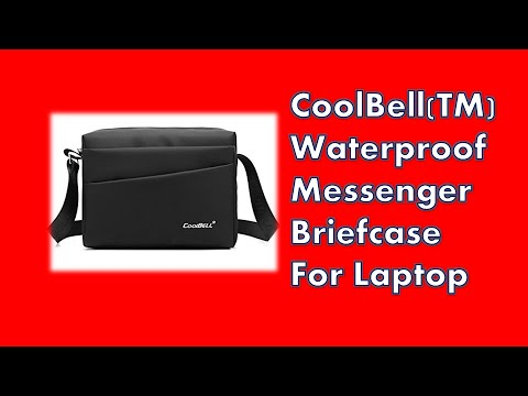, title : 'CoolBell(TM) Waterproof Messenger Briefcase For Laptop'