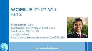 Mobile IPv4: Part 2