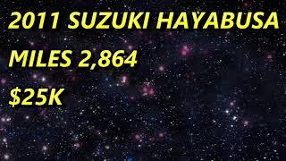 8. BIKE 4 SALE 2011 SUZUKI HAYABUSA