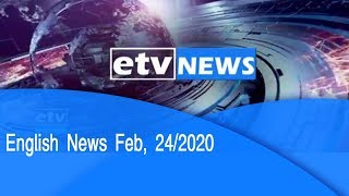 English News Feb, 24/2020