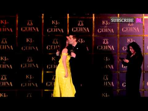 Karan, Ileana, Nimrat at KJo For Gehna launch | Pa