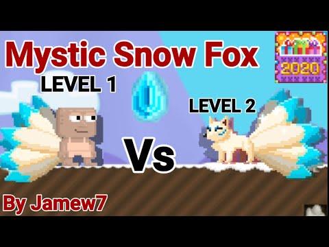 Mystic Snow Fox Set Challenge! + (New Calendar + More) OMG!! - Growtopia