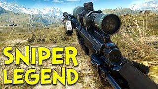 SNIPER LEGEND! - Battlefield 4 (War Stories)