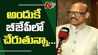 MP TG Venkatesh Face to Face over Joining BJP   TDP MPs Joining BJP
