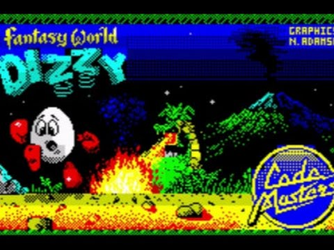 Fantasy World Dizzy - ZX Spectrum