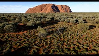 Ayers Rock (Uluru) Australia  city photos gallery : Never before seen bird's-eye view of Uluru