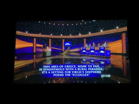 Final Jeopardy, Greatest of All Time Day 4, Game 1 - JAW-DROPPING MOMENT (kind of?) (1/14/20)