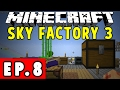 SkyFactory 3   Minecraft ModPack #8 (Loot Recycler, Colossus Chest and Auto Sieve)
