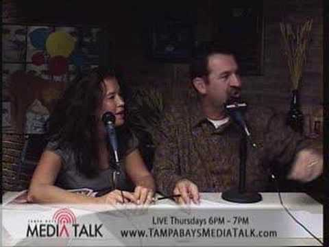 Hypnotist & Comedian Rich Guzzi on Tampa Bay's Media Talk