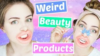 Video Testing Weird Beauty Products !   Jazzybum MP3, 3GP, MP4, WEBM, AVI, FLV Desember 2018